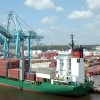 port ship & containers