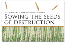 Report: sowing the seeds of destruction