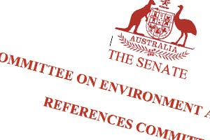 Senate environment committee
