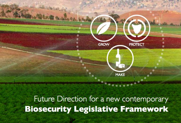 New directions statement for biosecurity legislation in Tasmania