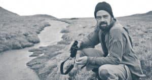 Tim Low on Macquarie Island.
