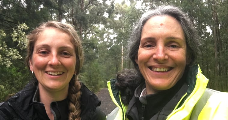 Bianca Gold and Kate Blood, program officers working on the Weeds at the Early Stage of Invasion Project